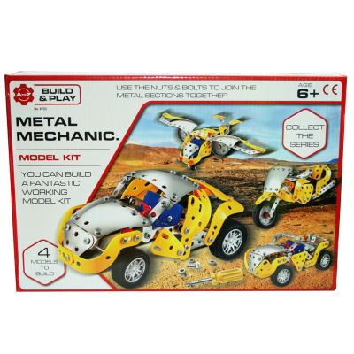 METAL MECHANIC MODEL CAR 180PCS