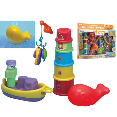 BATH TIME PLAY SET (O)