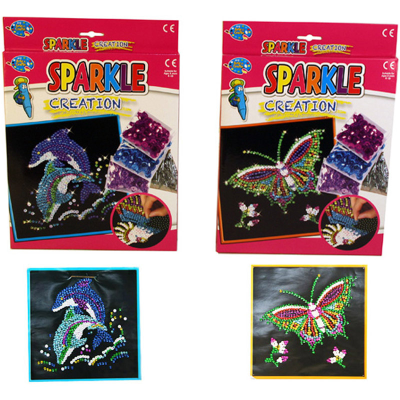 SPARKLE BUTTERFLY & DOLPHIN